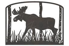 Moose Address Sign