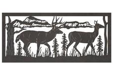 Deer 5 Railing Insert