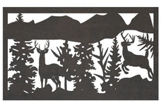 Deer 4 Railing Insert