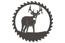 Saw Blade & Large Buck