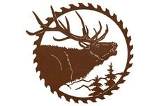 Saw Blade & Elk Bugle