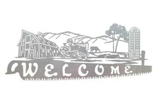 Farm Welcome Sign