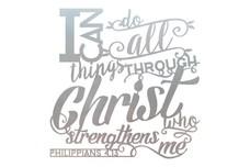 Philippians 4:13 DXF File