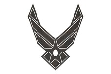 Air Force Logo DXF File