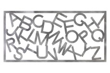 Alphabet Railing Insert