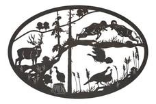 Animals Oval Insert