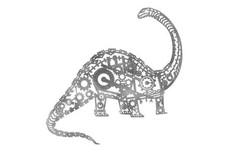 Apathosaurus Wall Art