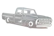 Vintage Truck Stock Art
