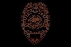 Police Badge DXF File