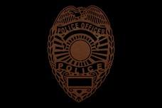 Police_Badge DXF File