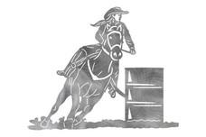 Barrel Racing Stock Art