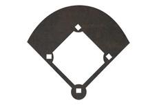 Baseball Diamond DXF File