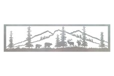 Bear And Elk Railing Insert
