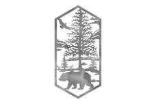 Bear In Forest Wall Art
