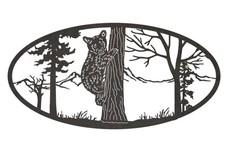 Bear Cub Oval Insert