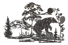 Bear's Hive DXF File