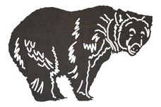 Grizzly Bear DXF File