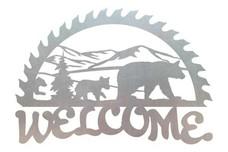 Bears Welcome Sign