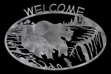 Bears Welcome Sign
