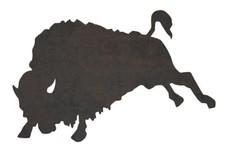 Bucking Bison DXF File