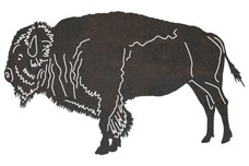 American Bison DXF File