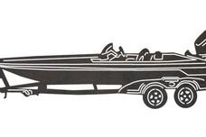 Wheeled Boat DXF File