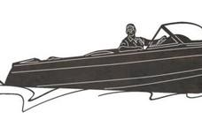 Ski Boat DXF File