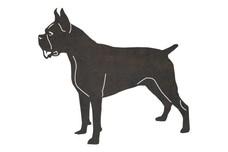 Boston Terrier DXF File