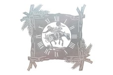Bronco Clock