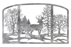 Buck Fireplace Screen