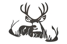 Buck Resting DXF File