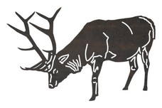 Bowing Buck DXF File