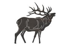 Red Deer Buck DXF File