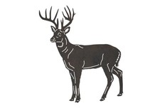 Buck Standing Tall DXF File