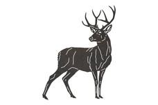 Buck Looking Backwards DXF File
