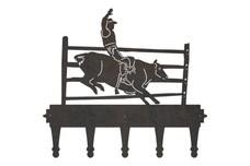 Bull Rider Coat Hanger
