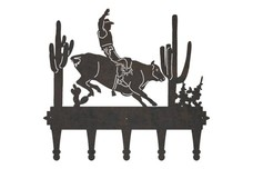 Bull Riding Coat Hanger