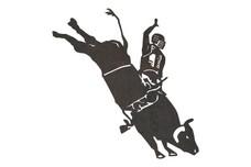 Bucking Bull DXF File