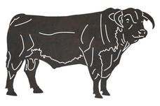 Brahman Bull DXF File