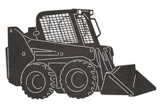 Mini Bulldozer DXF File