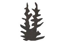 Bush Silhouette DXF File