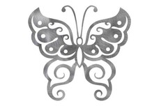 Swirly Butterfly DXF File