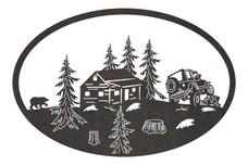 Cabin & Jeep Oval Insert