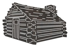 Old-fashioned Cabin DXF File
