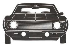 V8 Muscle Car DXF File