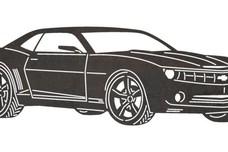 Camaro DXF File