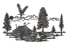 Camp Stock Art