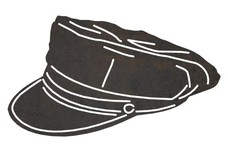 Police's Midway Cap DXF File