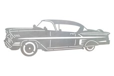 Car - Chevvy Bel_Air DXF File