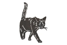 Angry Cat DXF File